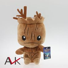 Brinquedos Marvel Peluches Anime Superhero Guardians of the Galaxy 20cm Groot mini Plush Toys Dolls With Tag Free shipping(China (Mainland))