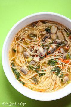 Thai noodle soup | Eatgood4life.com