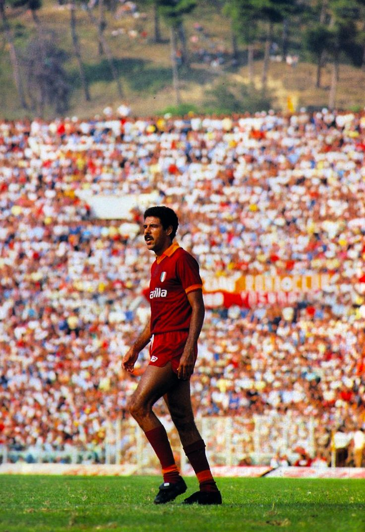 """Toninho Cerezo"" Antônio Carlos Cerezo (AS Roma, 1983–1986, 70 apps, 13 goals)"