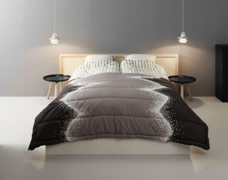 Přehoz Sprinkle od Normann Copenhagen, šedý | DesignVille