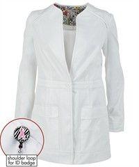 Koi Scrubs 421 Lauren Lab Coat and Women's Fashion Lab Coats