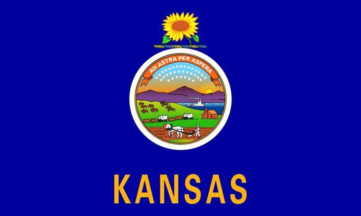 33.- KANSAS. Capital: Topeka. Ciudad más grande: Wichita. Población: 2.893.957(2013) habitantes. Área total: 213.099 km2. Categoría de estado: 1861.