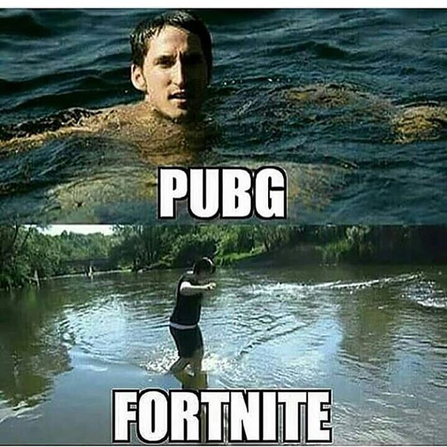 Pubg Vs Fortnite Memes Funny And Dank Memes And Quotes
