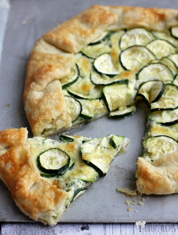 ZUCCHINI CROSTATA - VERY GOOD! It calls for Marscapone cheese. Here's a substitute: http://www.food.com/recipe/mascarpone-cheese-substitute-66077