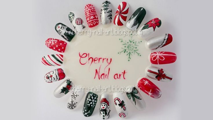 idées nail art noel facile http://cherry-nail-art.blogspot.fr/2014/11/mon-kit-nail-art-pour-noel-concours.html?utm_source=feedburner&utm_medium=email&utm_campaign=Feed:+CherryNailArt+(Cherry+Nail+art):
