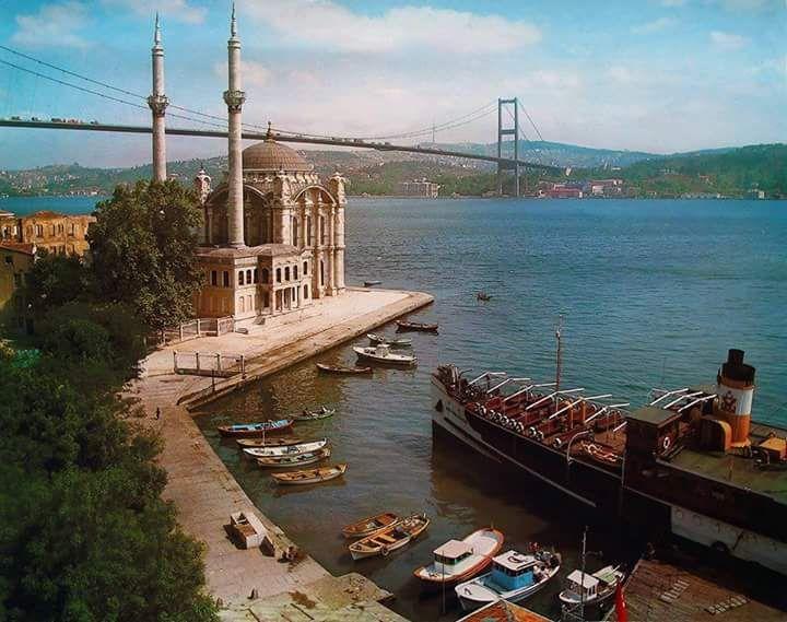 Ortaköy, 1978 #istanbul #birzamanlar #istanlook #nostalji