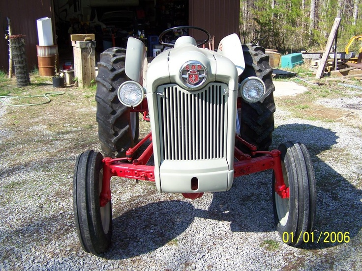 601 Ford Tractor Bumper : Best images about tractors on pinterest john deere
