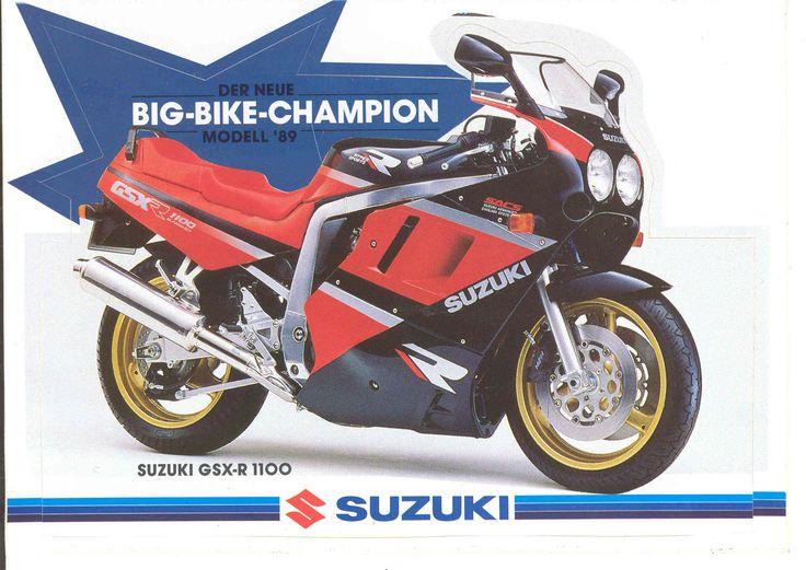 Suzuki GSX-R1100, 1989