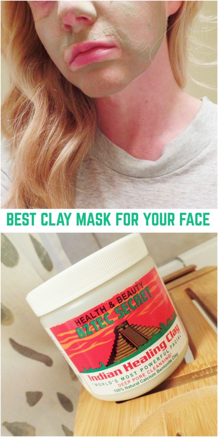 The best clay mask - cleans, softens, makes your face glow! Learn where to buy and how to apply!