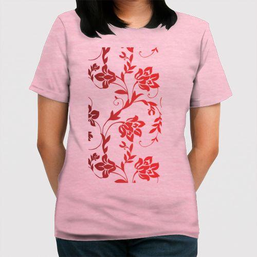 Bunga Merah Sekolah dari Tees.co.id oleh R&W Desain