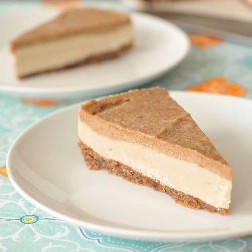 salted caramel cheesecake [vegan, raw, gluten and sugar free]