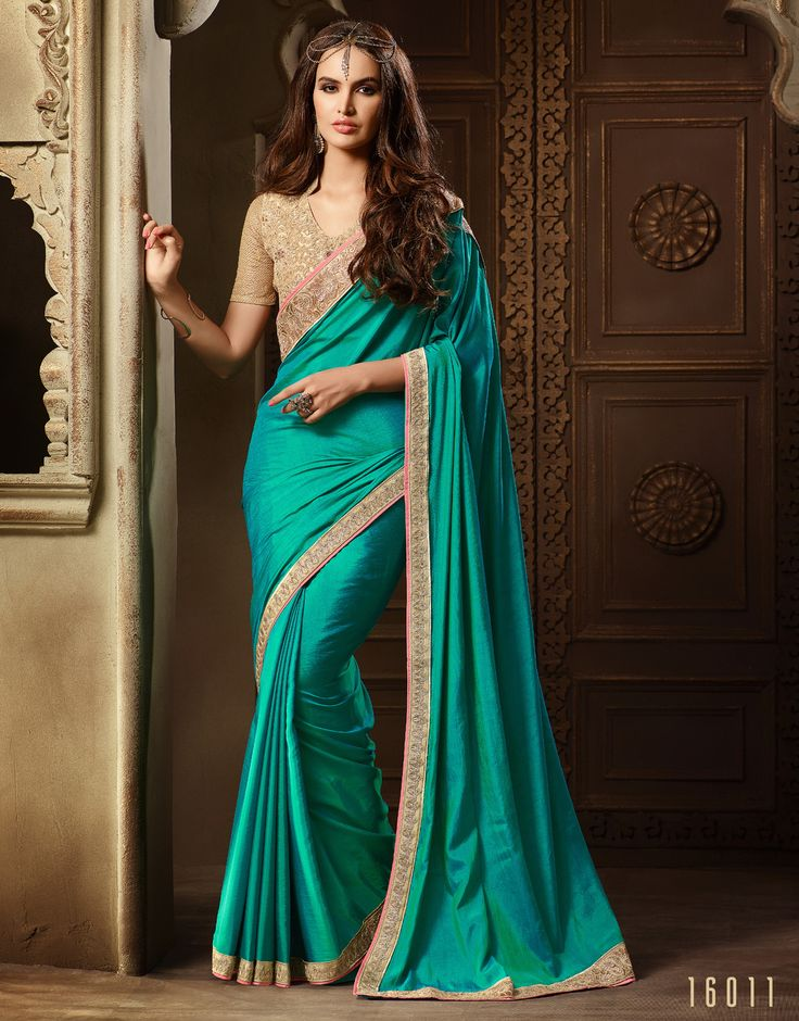 #Lalgulal Rama Silk Embroidery #Designer Blouse #Partywear #Bridemate #Saree. Buy Now :- http://www.lalgulal.com/sarees/rama-silk-embroidery-designer-blouse-partywear-bridemate-saree-686 To Order Visit our #Website or You can Call or #Whatsapp us on +91-95121-50402.  #COD & #FreeShipping Available only in India.