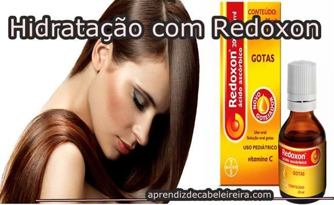 HIDRATAÇÃO CASEIRA no CABELO com REDOXON - DICA PODEROSA http://www.aprendizdecabeleireira.com/2016/05/hidratacao-caseira-cabelo-redoxon.html
