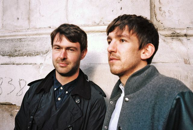 Edwin and Jack Savige of Friendly Fires