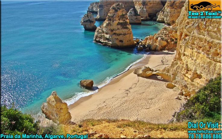 Praia da Marinha, Algarve - Portugal..!! One Of The 100 Most Beautiful Beach In The World ..!! #Best #Taxi And #Driver #Service #Provider #Ahmedabad Call : 78-78-886-886/78-78-884-884, www.tea2taxi.com  For More Information #Click Here - http://tea2taxi.blogspot.in/2016/05/praia-da-marinha-one-of-100-most.html
