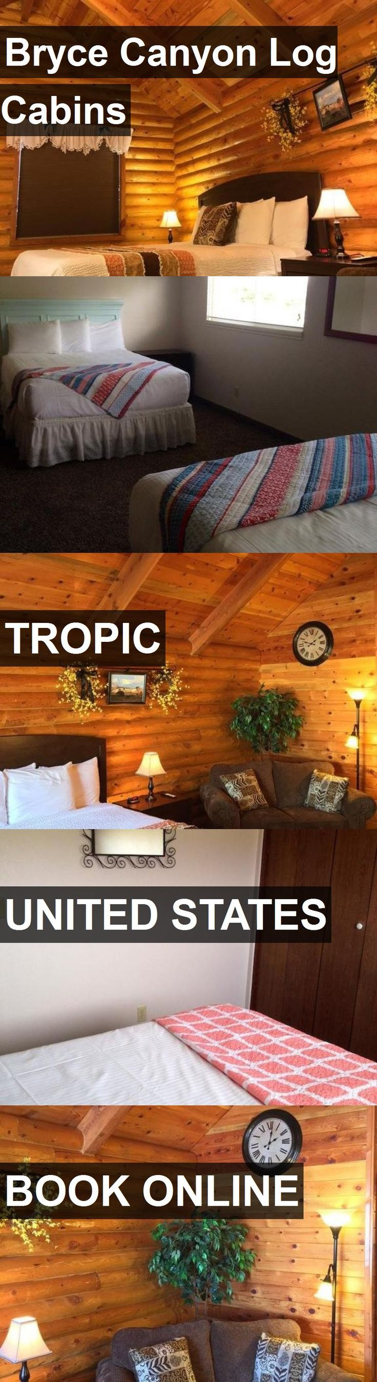 Hotel Bryce Canyon Log Cabins in Tropic, United States. For more information, photos, reviews and best prices please follow the link. #UnitedStates #Tropic #travel #vacation #hotel