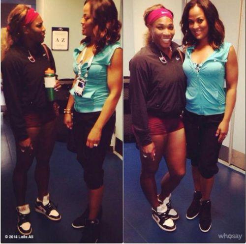 ¿Cuánto mide Serena Williams? - Altura - Real height 66f9d3943c2310f36ffafc52fbea7315--venus-and-serena-williams-laila-ali