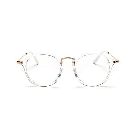 Clásico de La Vendimia Gafas Redondas Gafas de sol Unisex Nerd Gafas Marco Transparente Claro Gafas luneta oculos de grau de vue Con Caja en Marcos Eyewear de Ropa y Accesorios en AliExpress.com   Alibaba Group