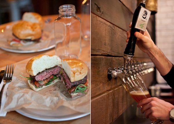 Happenin' Happy Hour: 8 oz. Burger Bar! #seattle
