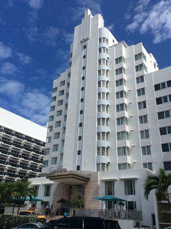 Cadillac Hotel 1940 Miami Beach Florida Usa