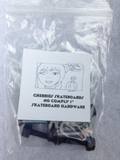 "Cherries Skateboards No Comply 1"" Skateboard Hardware"