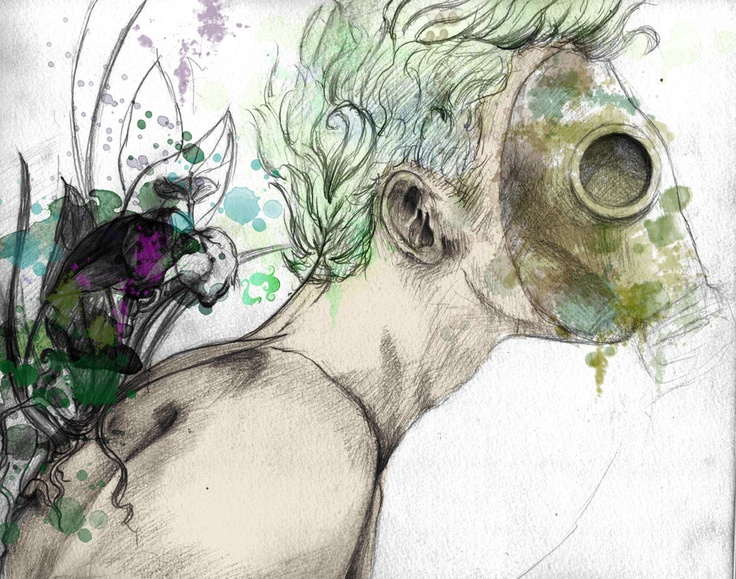 At the End Only Nature Will Survive: Survival Mixed, Post, Nature, Art, Mixed Media, Eatsleepdraw