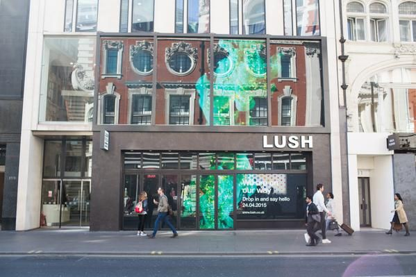 LUSH opens new flagship and largest store on Oxford Street