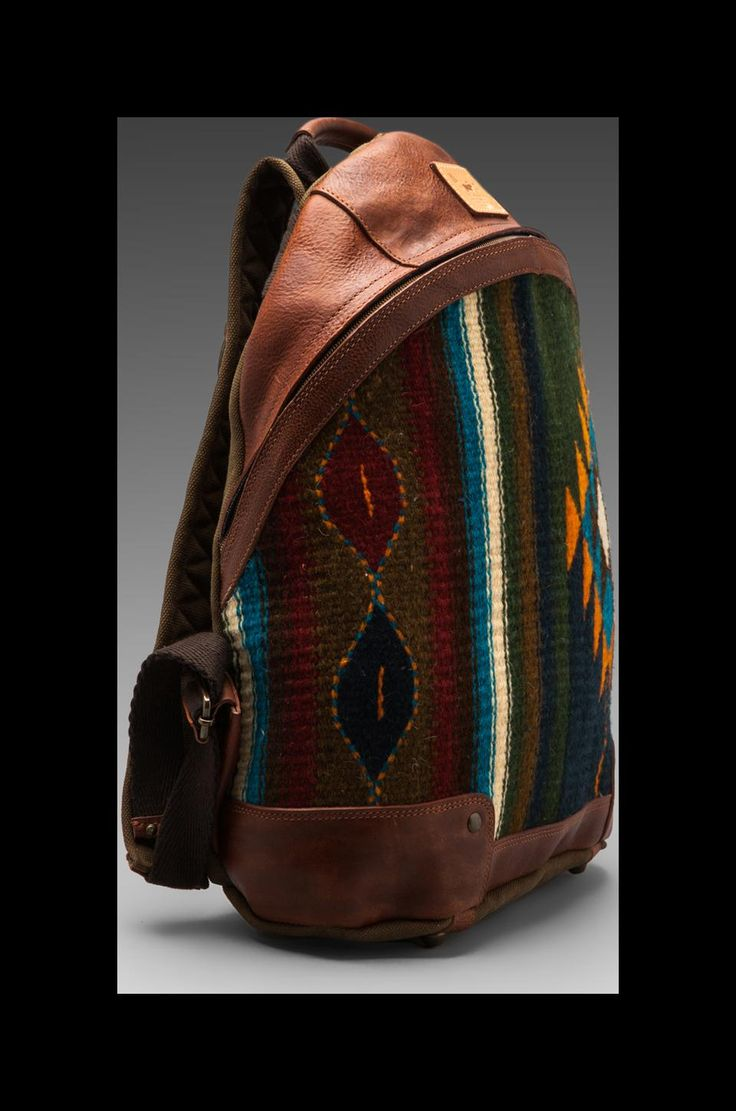 WILL Leather Goods Oaxacan Dome Backpack in Cognac | REVOLVE