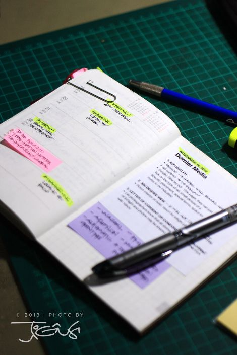 Grid note on the right pages