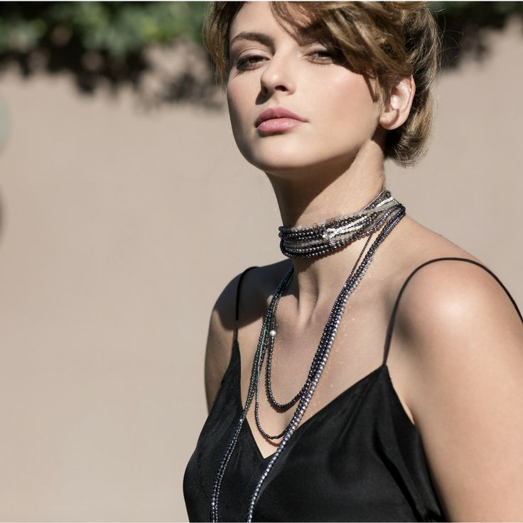 Faystone Necklaces | Wear it single, double or multiple as a necklace or as a bracelet.