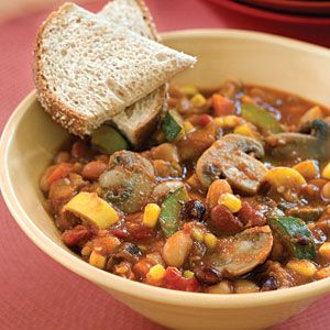 Slow-Cooker Veggie Chili | SouthernLiving.com