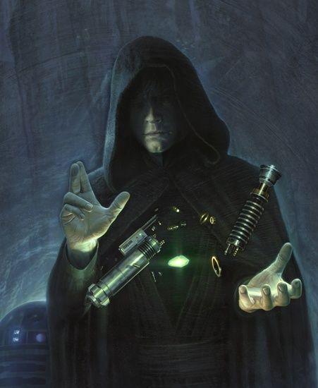 Luke Skywalker CONSTRUYENDO SU SABLE LASER - Nunca lo vimos en EP6 - Comment by Torby.
