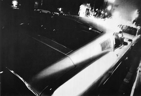 Takuma Nakahira. In the final phase of Provoke magazine, that existed for a mere year and a half, Nakahira collected scenes from illuminated night-time cities that elude language, and published them in the book of photos For a Language to Come in 1970. Masashi Kohara