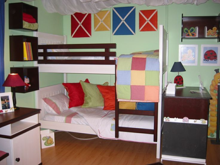 Classic Uni-sex Straight Bunk Beds, available in single, 3/4 and double options. Added extras are your guard rails, under beds, storage trolleys and ladder. Complete the look with matching side tables, desks, wall/floor shelving and dressing tables. Available in various colors and styles.