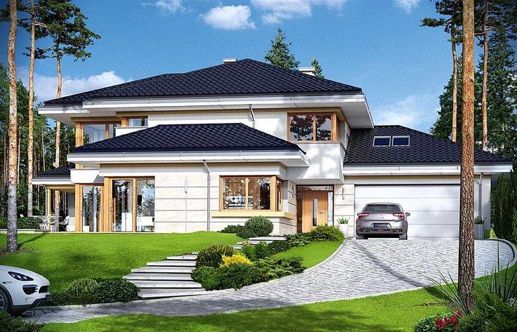 Zdjęcie projektu Dom z widokiem 3 WAH1656
