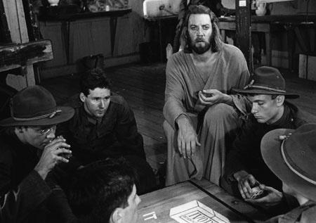 La aparición de Jesús en la película Johnny Got His Gun de 1971