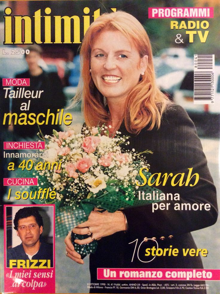 """Intimità n. 41"" Sarah Ferguson"