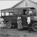 The Tuskegee Institute Movable School was an outreach effort of the Tuskegee Institute (now Tuskegee University) aimed at bringing modern agricultural tools and methods to rural areas and people in Alabama. First established by agricultural researcher and professor George Washington Carver. The Mova...The Tuskegee Institute Movable School was an outreach effort of the Tuskegee Institute (now Tuskegee University) aimed at bringing modern agricultural tools and methods to rural areas and…