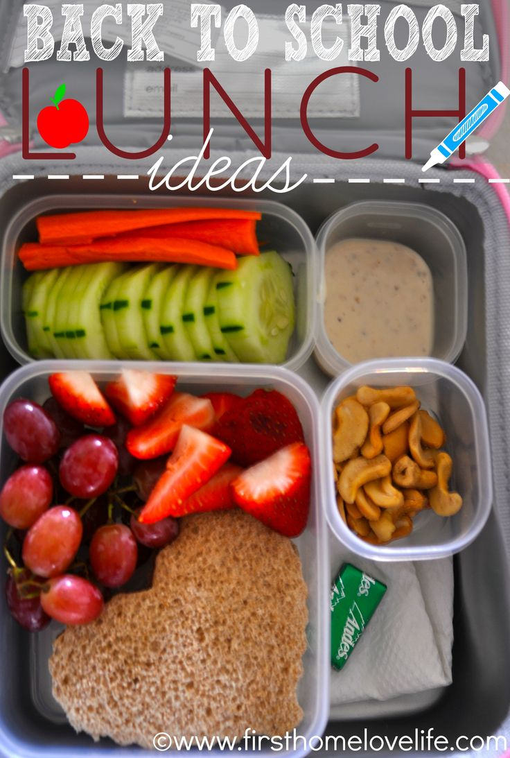 """Back to school lunchbox ideas with bento style Rubbermaid """"Build a Better Lunch"""" LunchBlox kits."""