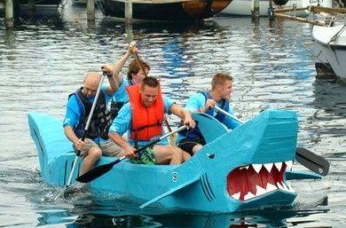cardboard boat  | Cardboard boats