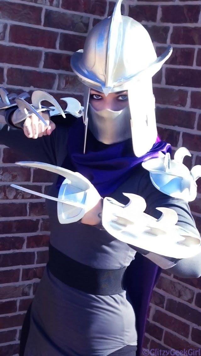Detailed Shredder Cosplay Tutorial by GlitzyGeekGirl