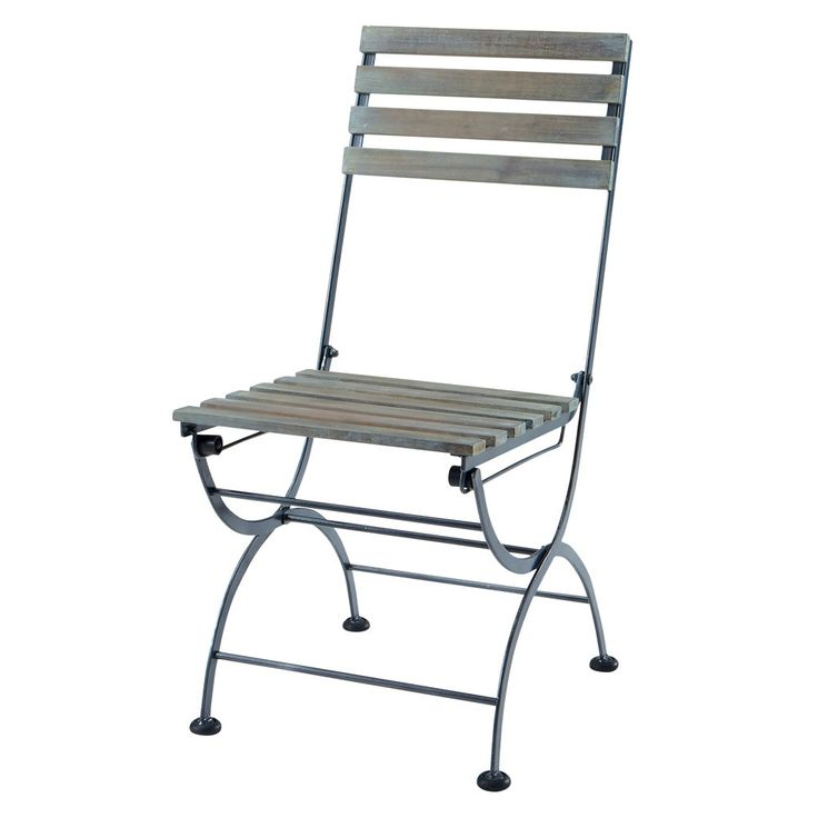 Black Metal Folding Chairs best 20+ folding garden chairs ideas on pinterest | retro chairs