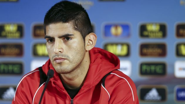 Liga de Europa: Carlos Zambrano sale con todo por su boleto #Peru21