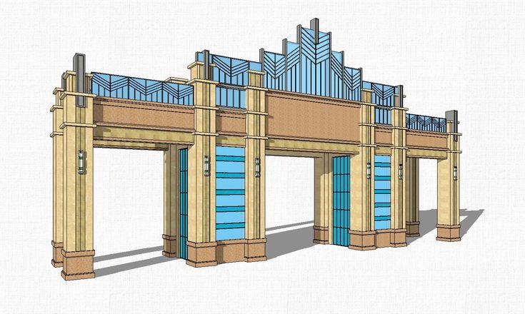 ★Sketchup 3D ModelsArchitecture Concept Sketchup Models