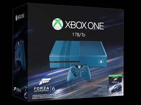 Xbox One Forza 6 Limited Edition 1TB Bundle FORZA MOTORSPORT 6 XBOX ONE, XBOX 360, Gaming, Forza Horizon 2, New 2015, Microsoft,
