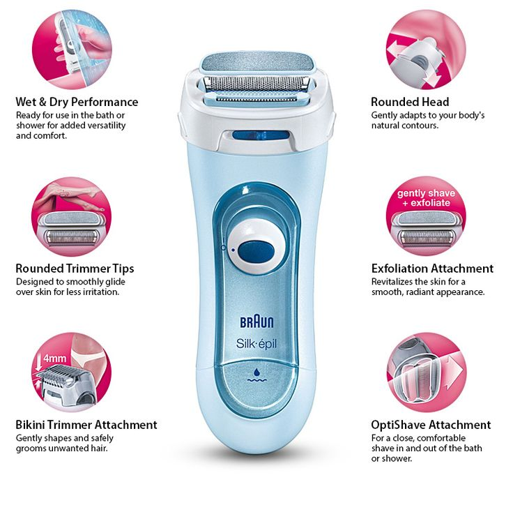 Braun LS5160 Silk-epil is a dermatologically recommended Silk-epil lady shaver.