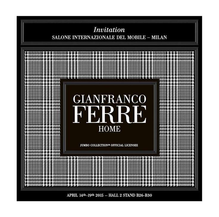 Gianfranco Ferré Home | Salone del Mobile Milano 2015