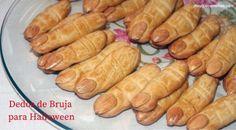 Dedos de Bruja - Recetas y postres - Y hoy que comemos