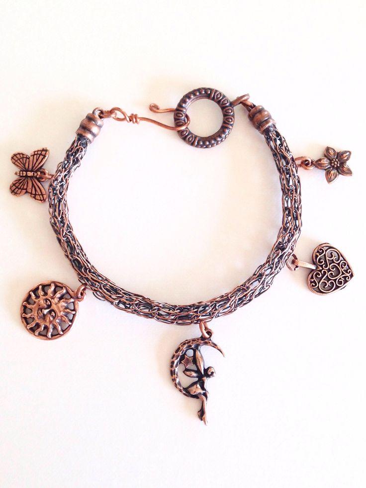 20 best Unique Handcrafted Bracelets images on Pinterest | Wire ...