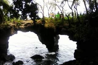 Natural Bridge, Rotuma (Hard to get to, you have to go through a forest filled with snakes) ;)